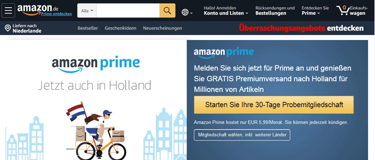 Amazon Prime iDEAL