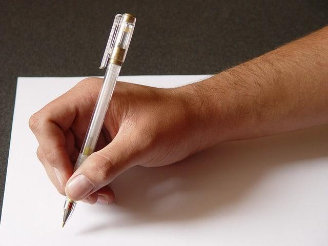 Hoe schrijf ik een brief