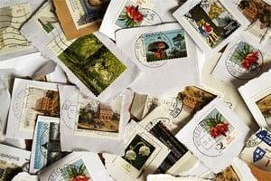 Postzegels losweken