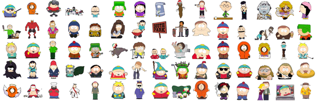South Park stickers Telegram
